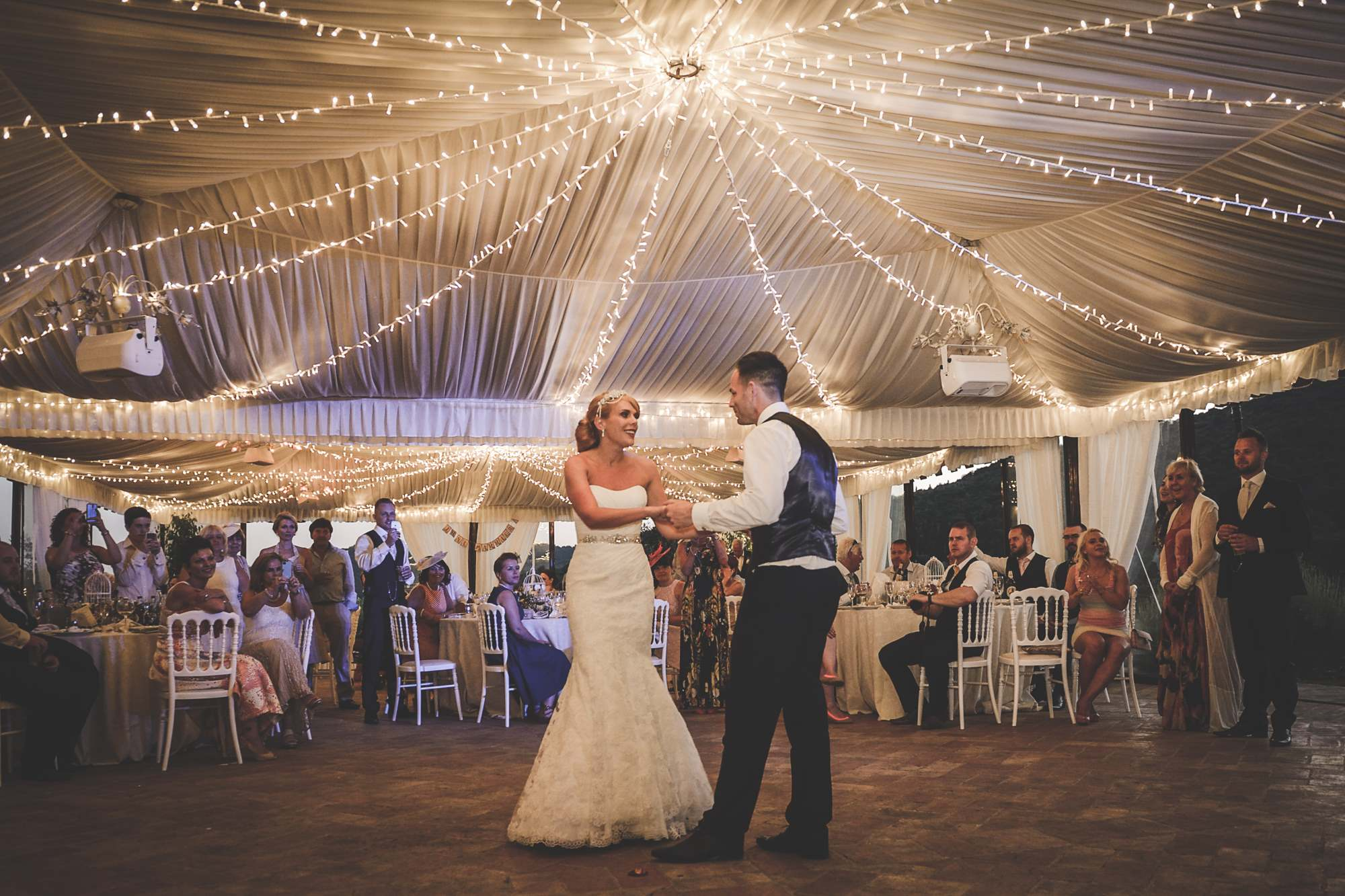 Marquee Wedding Ideas Bride And Groom First Dance