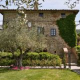 Exclusive weddings villa Italy Baroncino, frontal view of Villa Vittoria.