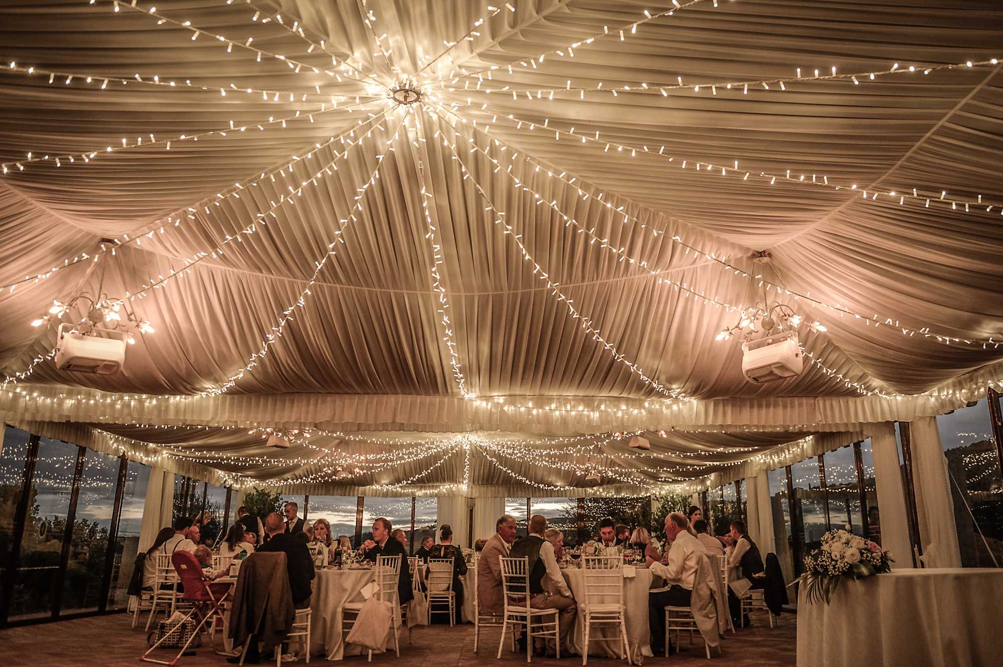 Marquee Wedding Ideas During Reception