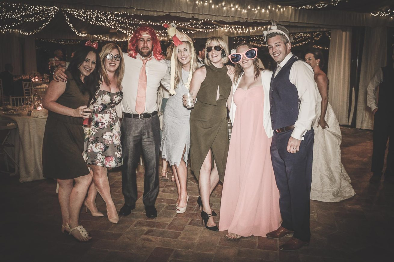 Marquee Wedding Ideas. The photo booth is always the funniest part of the wedding party.