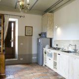 Villa wedding Italy. The kitchen area in Suite Villa 1.