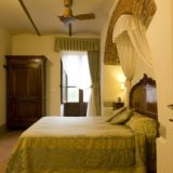 Weddings tuscany villa. The bedroom of Suite Villa 6.