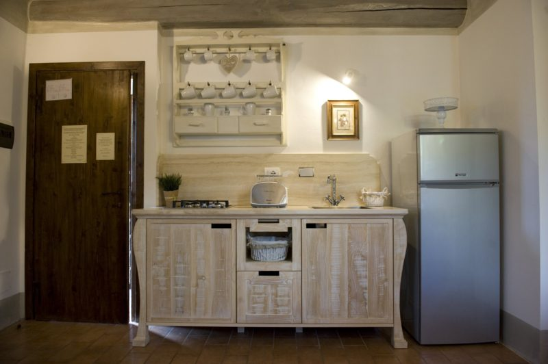 Wedding tuscany villa. The kitchen area in Suite Villa 3.