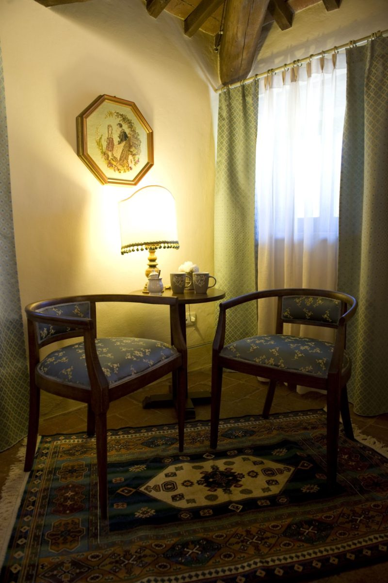wedding apartment villas. A detail of the antique elegant furniture