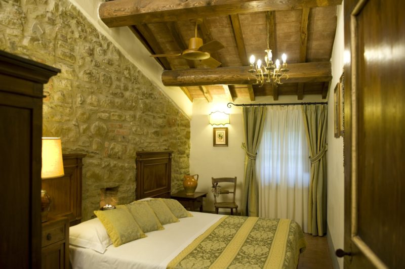 Italy weddings villas. One of the bedrooms of Suite Villa 4.The queen size bed can also be separated into 2 single beds upon request.