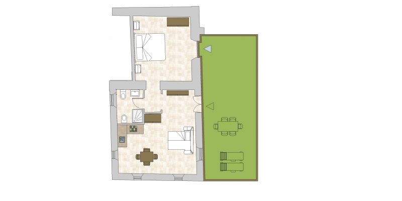 Villa-5 Floor Plan. Weddings tuscany.