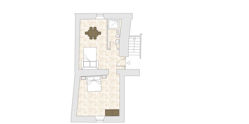 villa-9 Floor Plan. wedding villas accommodation.