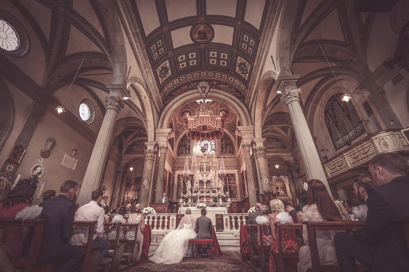 Tuscany Wedding - Altar of the Cathedral-Destination Weddings Italy