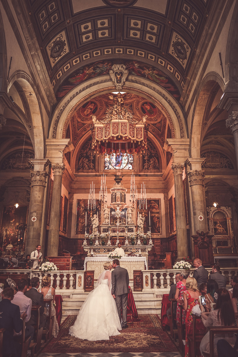 Tuscany Wedding - Cathedral of Cortona 13