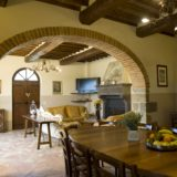 The communal area in Villa Adele where the wedding suite is . italy wedding venues, tuscany wedding villas