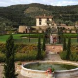 View of Exclusive weddings villa Italy Baroncino garden, Villa Adele and Villa Vittoria