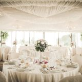 Marquee Wedding Ideas. Layout of the tables within the marquee on the wedding day.