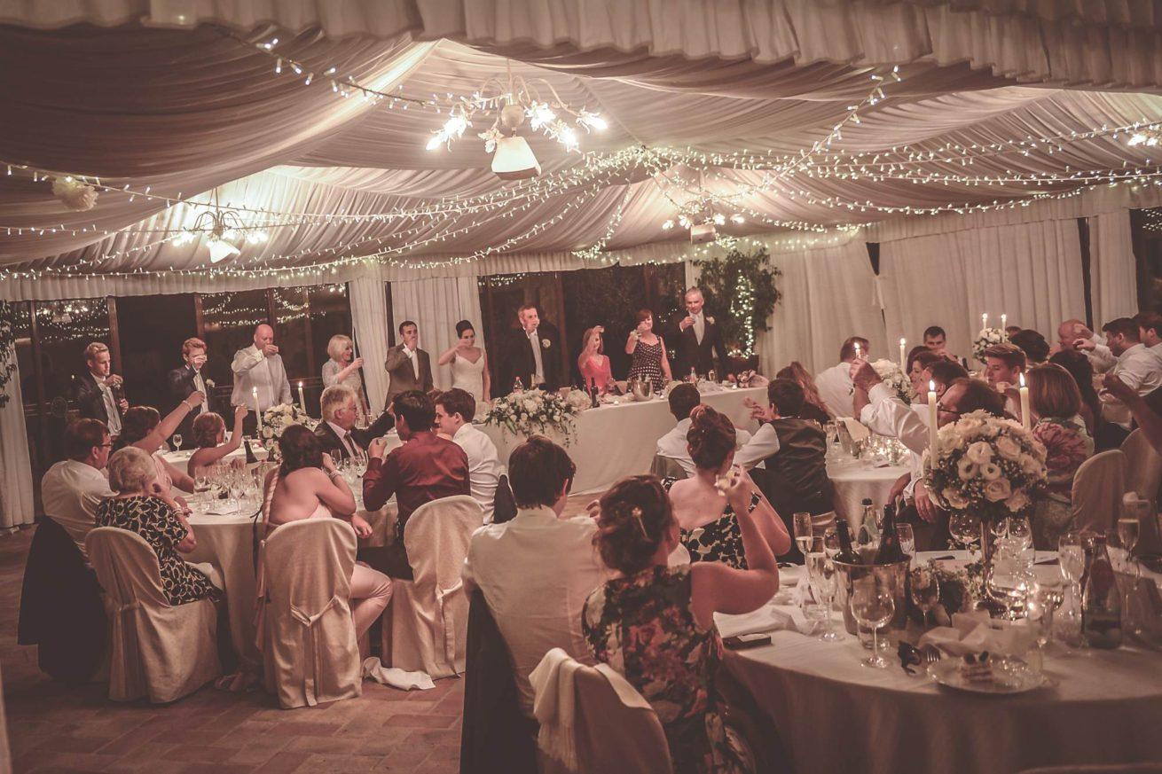 Marquee Wedding Ideas. The best man speech.