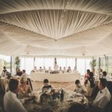 Marquee Wedding Ideas. The groom's speech.