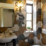 Wedding villa tuscany. One detail of the bathroom in Suite Villa 2.
