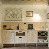 Wedding villa tuscany. The kitchen area in Suite Villa 2.