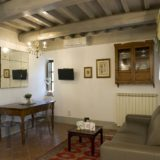 Wedding villa tuscany. The living area in Suite Villa 2.