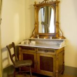 Wedding tuscany villa. A detail of an antique furniture of Suite Villa 3.