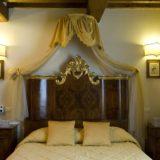 wedding venues italy. A detail of the bedroom of Villa 12
