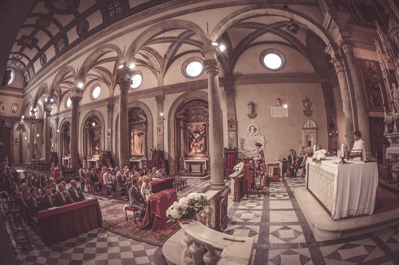 Tuscany Wedding - Cathedral of Cortona 4