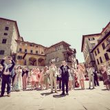 Tuscany Wedding - Cortona Town Hall 10